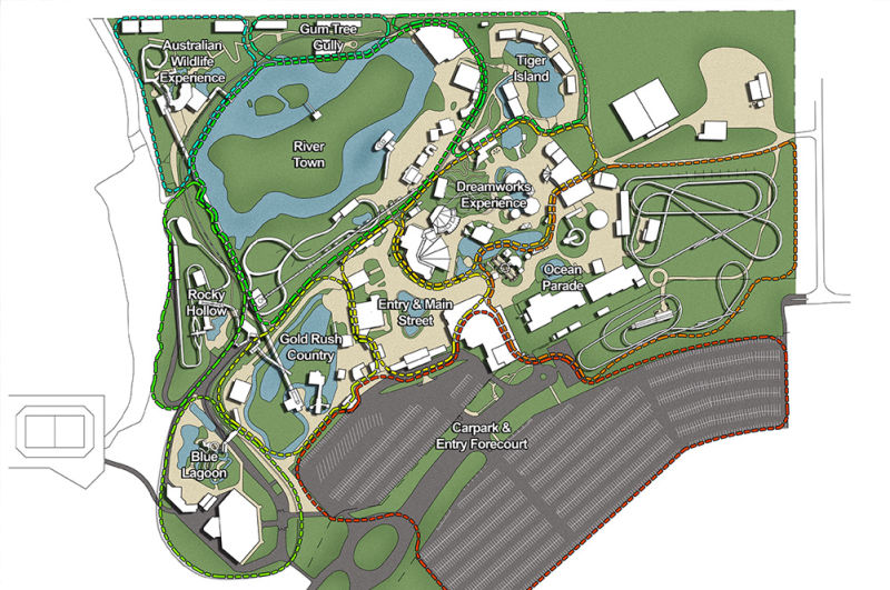 Dreamworld Species Masterplan