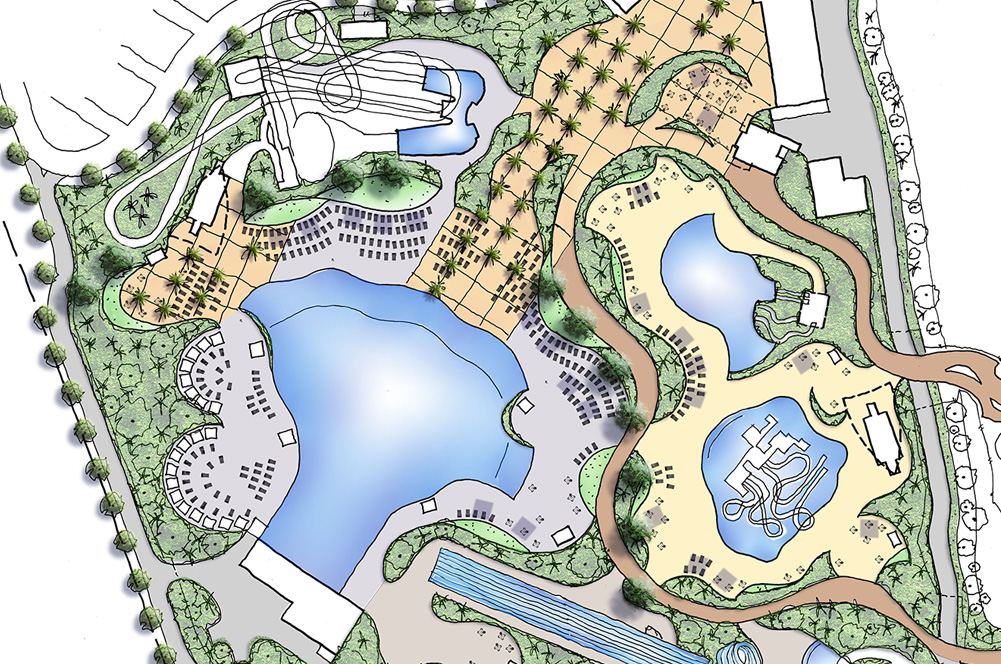 Whitewater World Vegetation Masterplan