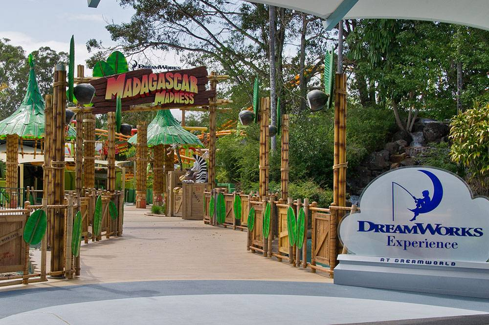 Photo of Dreamworks Experience entry at Dreamworld