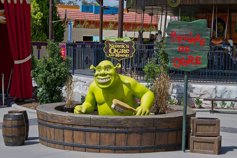 Photo of Dreamworks Experience Ogre at Dreamworld