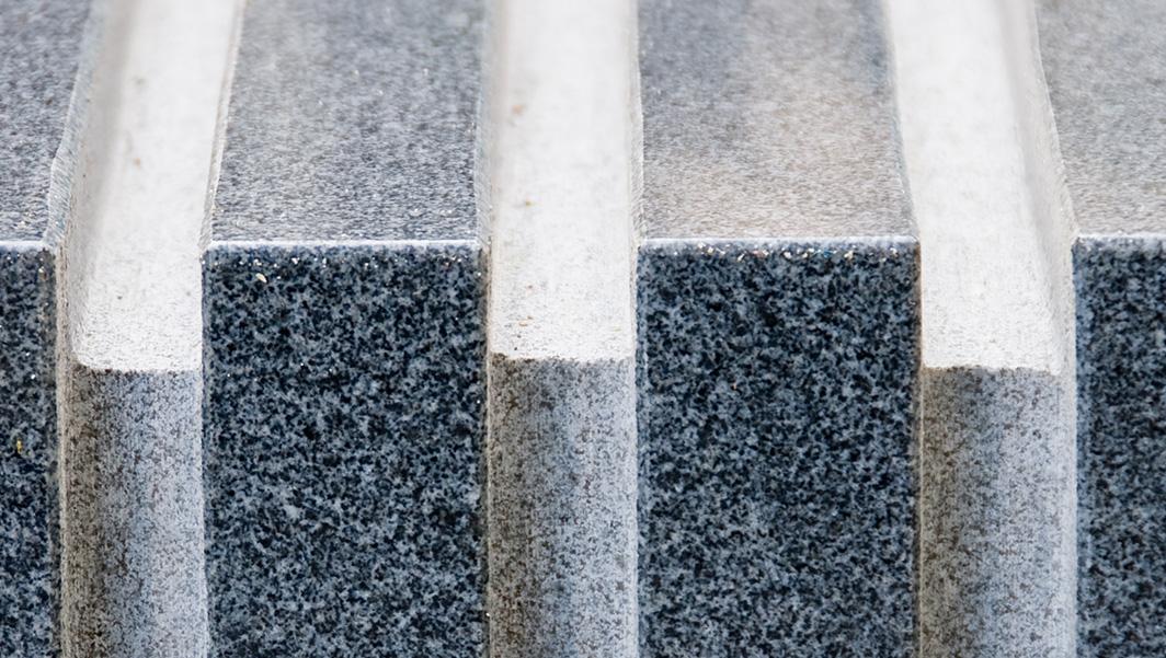Photo of Monolithic Granite Plaza Seats