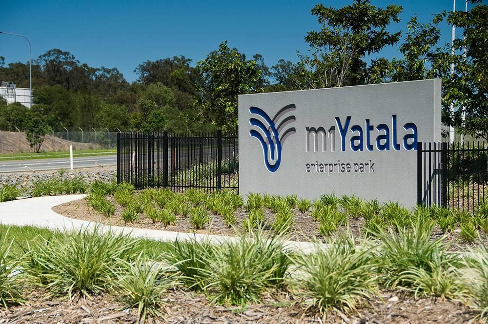 m1Yatala signage wall
